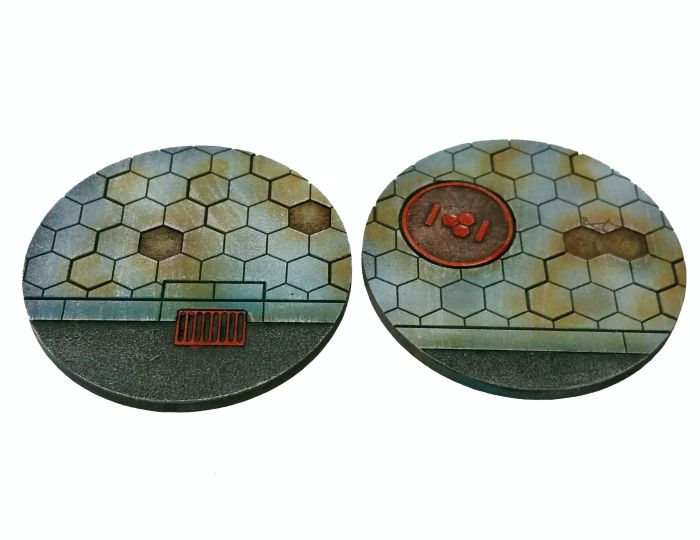 Hexy Sci-Fi 55mm Bases [x2] - Click Image to Close