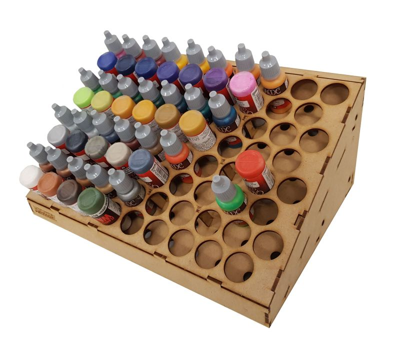 Dropper Bottle Rack - Click Image to Close
