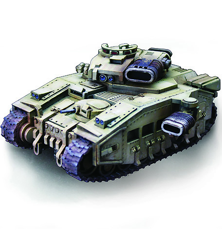 Conquerer III Heavy Tank - Click Image to Close