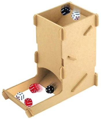 Portable Dice Tower