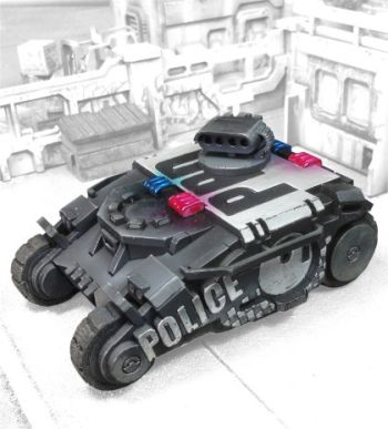 Police Tactical Response Vehicle