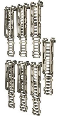 Ladders 5 SciFi Long